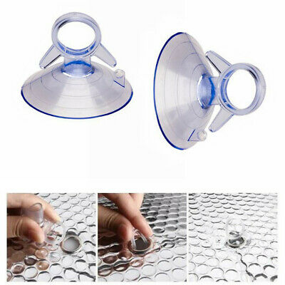 $7.48 • Buy 45mm Car Sunshade Suction PVC Cups Clear Rubber Plastic Window Suckers Pads 20pc