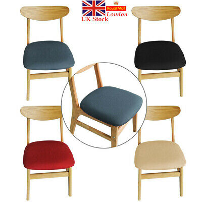 £3.23 • Buy Elastic Dining Room Chair Covers Slip Seat Cover Stretch Removable Slipcovers UK