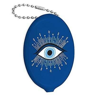 $10.93 • Buy Retro Change Purse By  - 1.88  × 3  Squeeze Coin Pouch Keychain Purse Evil Eye
