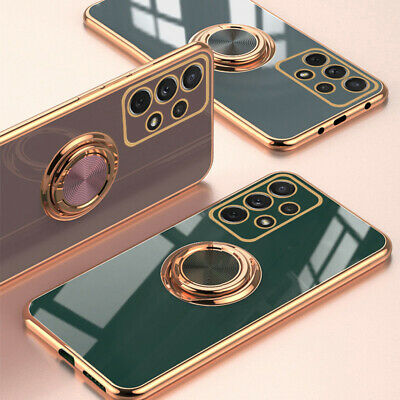 $ CDN7.60 • Buy Magnetic Ring Holder Phone Case For Samsung S21 Ultra S20  Note 20 A32 A52 A72