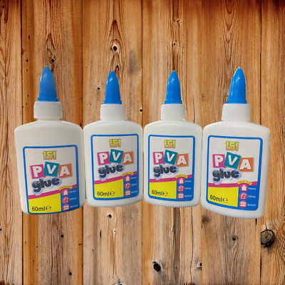 £4.25 • Buy PVA Glue Bottles Washable Safe Glue Ideal School Craft Home Office NON Toxic