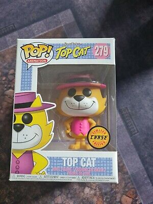 £15 • Buy Funko Pop! Animation: Hanna-Barbera - Top Cat Action Figure Chase Variant