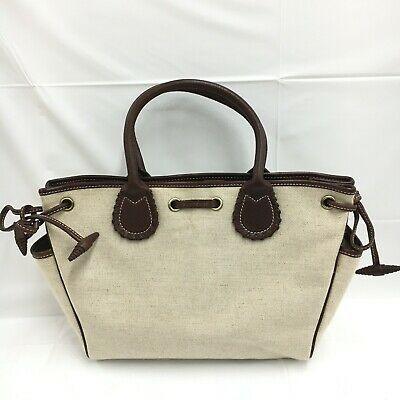 £120.40 • Buy Auth Burberry Canvas Hand Bag Beige From Japan 0527*1496