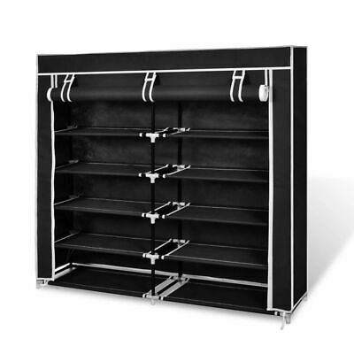 AU53.95 • Buy 5 Tier Shoe Cabinet Rack Storage Shoes Organiser With Non Woven Fabric Cover