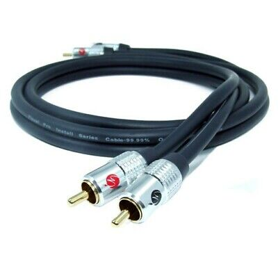 £9.99 • Buy Fisual Pro Install Series Phono / RCA Cable 10m (Pair)