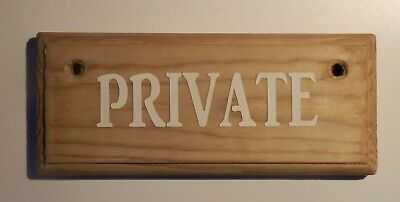 £4.50 • Buy PRIVATE -  Sign Rustic