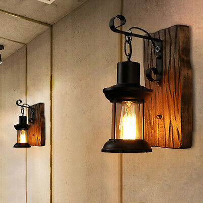 £13.99 • Buy Retro Wall Lamp Light Shade Ceiling Vintage Industrial Sconce Fixture Rustic