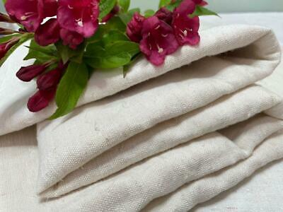 £20 • Buy MORCEAUX VINTAGE FRENCH HOMESPUN LINEN AND HEMP FABRIC 103 X 110 CMS CRAFTS