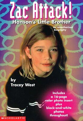 $ CDN31.52 • Buy ZAC ATTACK!: HANSON'S LITTLE BROTHER By Tracey West **Mint Condition**
