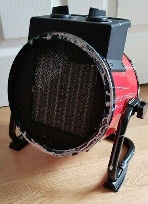 £39.99 • Buy Industrial Drum Heater Dryer PTC-2500-G01 2500 W Portable Professional Quality