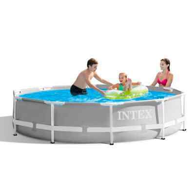 £169.99 • Buy Intex 10ft X 30 Inch Deep Round Prism Pool Set Including Filter Pump - 26702
