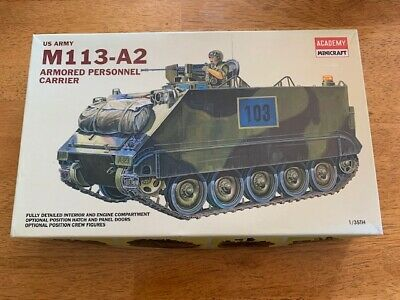 $32.84 • Buy Academy Minicraft U.S. M113-A2 1/35 Armored Personnel Carrier #1354