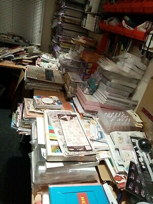 £44.99 • Buy Craft Bundle Job Lot Clearance - 100 Lucky Dip Items - Card/ Paper Crafts *NEW*