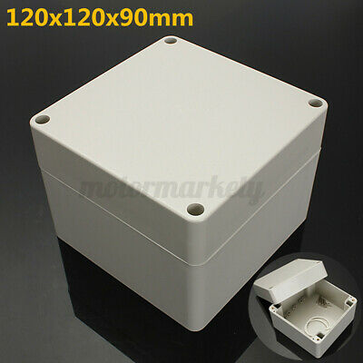 £7.52 • Buy ABS Plastic Electronic Project Box Enclosure Case Hobby Waterproof 120X120