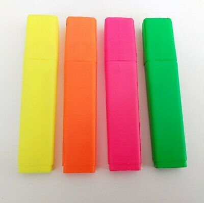 £0.99 • Buy 1X Assorted Premium Highlighter Pens Fluorescent Pens Bright Colours Markers