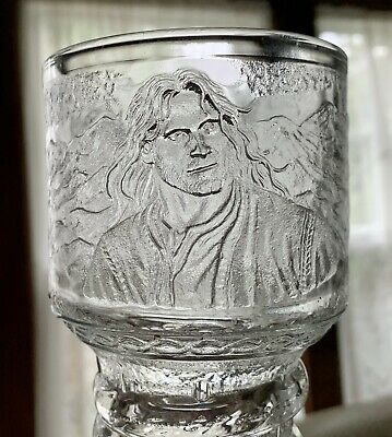 £7.27 • Buy LORD OF THE RINGS GLASS GOBLET Burger King Movie Promo Mug - Works - No Box