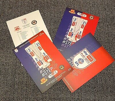 £11.89 • Buy Newport County V Morecambe Play-off Final SOLD OUT Programme+LINEUP 31/5/21 !!!