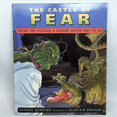 £14.12 • Buy The Castle Of Fear Gamebook Book Patrick Burston