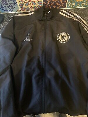 £20 • Buy Chelsea FC Football  Top Jacket 2013-2014 L Adidas Champions League Large