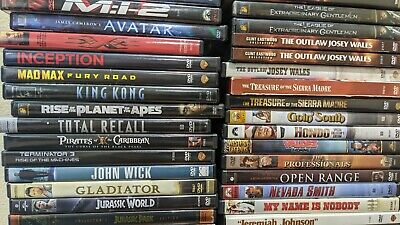 $2.50 • Buy DVD/Blu-Ray/4K Movies Pick & Choose Some Classic Movies, Western And Misc.