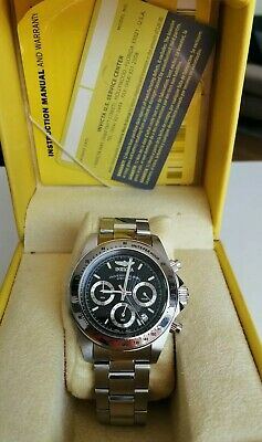 View Details Invicta Chronograph Stainless Steel Mens Watch 9223 • 54.90£