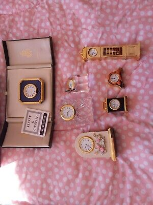 £50 • Buy Collection Of Miniature Clocks