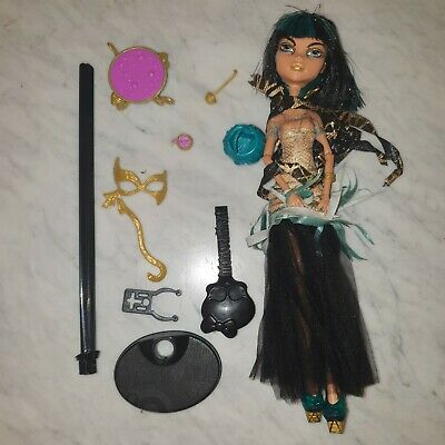 £10 • Buy Monster High Cleo De Nile Doll Ghouls Rule With Stand And Accessories VGC