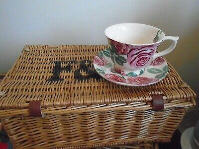 £26 • Buy Emma Bridgewater Pink Roses Large Cup And Saucer - Perfect Condition