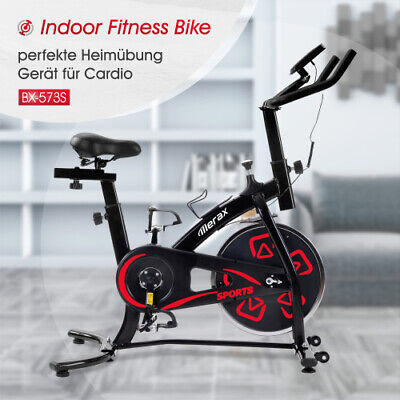 £197.99 • Buy UK Exercise Bike With LCD Console Adjustable Seat Cushion For Cardio Training