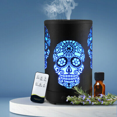 AU39.99 • Buy Ultraconic Aromatherapy Diffuser Aroma Oil Air Humidifier Halloween Black LED