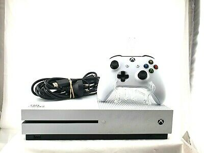 AU329 • Buy Microsoft Xbox One S Console 1TB With Controller And HDMI - White