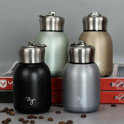 £8.49 • Buy Small Thermos Cup Mini Travel Drink Mug Coffee Cup Stainless Steel Vacuum Flask