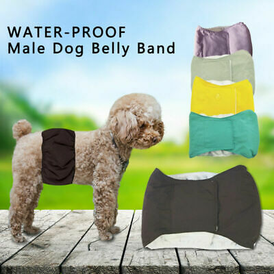 £6.99 • Buy Male Pet Dog Nappy Diaper Belly Wrap Band Sanitary Physiological Pants Underpant