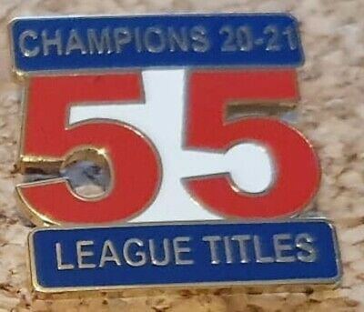 £4.99 • Buy RANGERS CHAMPIONS BADGE 55 LEAGUE TITLES Loyalist Linfield Champs