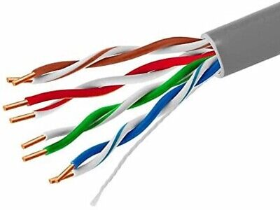 £65.90 • Buy External Outdoor Cat5E FULL COPPER Network Ethernet Cable FTP/UTP Lead 305m Rol