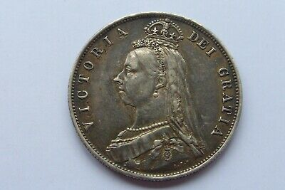 £49.99 • Buy Coin - GB Victoria Silver Half Crown 1887 Good Definition Not Cleaned