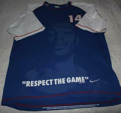£20 • Buy Nike - Thierry Henry - Blue - Respect The Game Tee-shirt 2004 - Great Condition!