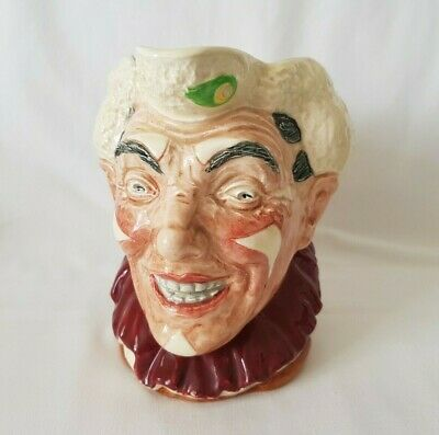£239.99 • Buy Royal Doulton Large Size Character Jug - The Clown (White Hair) D6322