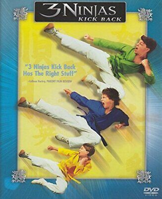 $ CDN30.96 • Buy MARTHA CHANG - 3 Ninjas Kick Back - DVD - Closed-captioned Color Dolby Dubbed