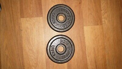 £19.95 • Buy Pro Power Weight Plates 2x 1.25