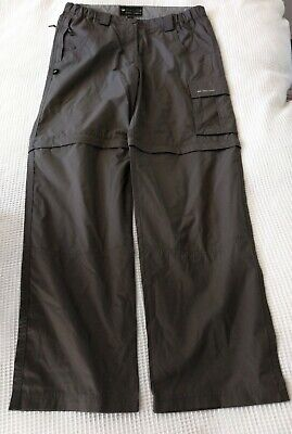 £4.99 • Buy Outdoor Trousers Ladies Size 12 / Convertible / Mountain Life / Trekking / Hike