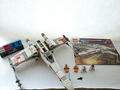 £47.08 • Buy LEGO Star Wars 9493 X-Wing Starfighter 100% Complete With Manuals & Minifigures