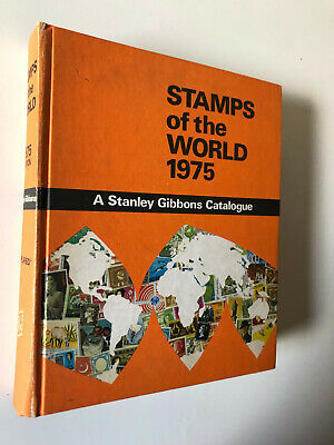 £30 • Buy Stamps Of The World 1975 - A Stanley Gibbons Catalogue - Hardback Book