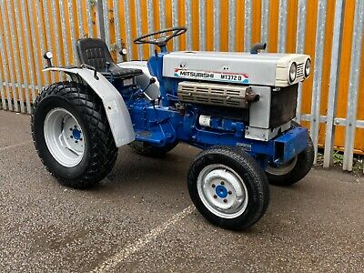 £3995 • Buy Mitsubishi MT3720 Compact Tractor LOW HOURS SERVICED