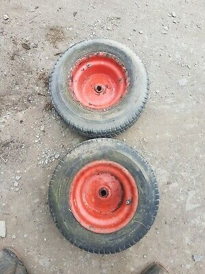 £45 • Buy 16x6.50-8 Ride On Mower Lawn Westwood Tractor TYRES Countax Wheels Rear Back