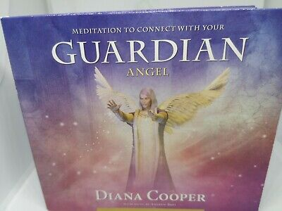 £9.97 • Buy Meditation To Connect With Your Guardian Angel Signed By Diana Cooper (CD)