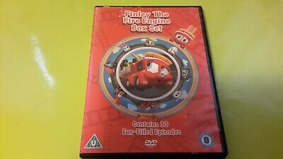 £4.99 • Buy Finley The Fire Engine Box Set 3 Disc's  Dvd  Vgc Posted Same W/day