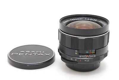 $199.99 • Buy 【EXC+++++】Pentax Super Takumar 20mm F/4.5 MF Wide Angle Lens M42 From JAPAN