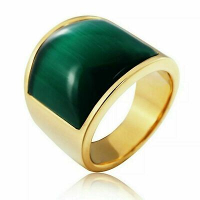 £76.54 • Buy Natural Jade Gemstone With 925 Sterling Silver Ring For Men's #15