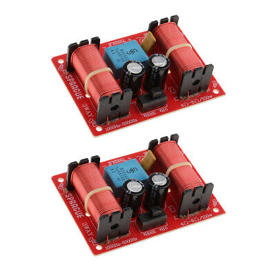 AU17.30 • Buy 2 Pieces 3 Way Speaker Crossover Audio Filter Frequency Divider For Car Home